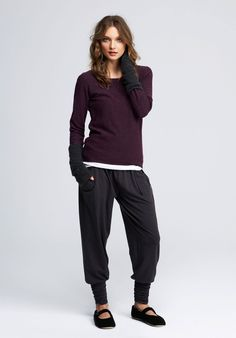 Comfy pants, I want some!