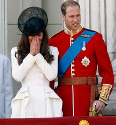 Kate Middleton Trooping of the Colours 11 06 2011