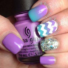 rose_trot #nail #nails #nailart
