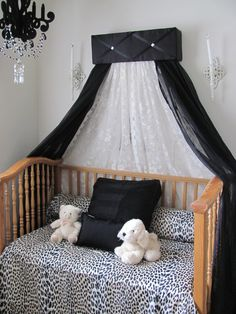 Tufted Blace Canopy for bed Upholstered girls bedroom SALE by SoZoeyBoutique on Etsy