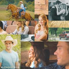 {Scott Eastwood in The Longest Ride} Hot just like his dad :)