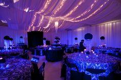 Drapery & LED Lighting