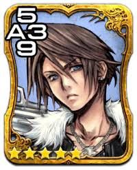 Digital Embellished Triple Triad Card Character Fictional Characters Cards