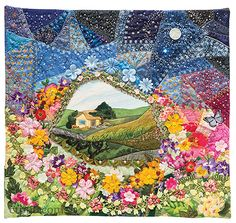 Valerie Bothell –– Fun new ways to make any quilt a little bit crazy If you cross traditional crazy quilting, some favorite pieced quilt patterns, and today's machine-quilting methods, what do you get