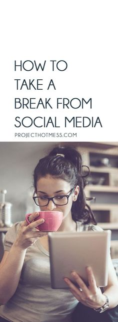 Have you decided it's time to take a break from social media but you're just not sure how to do it? Do you cut all ties or gradually reduce your time? Here's our guide to taking a break from social media the easy way. Quitting Social Media, Social Media Break, Social Media Detox, Social Media Apps, Social Media Quotes, Break A Habit, Take A Break, Take That, Pregnancy Workout