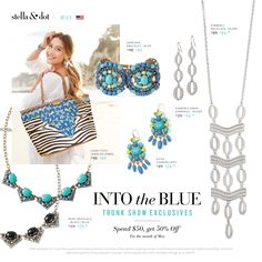 May Specials for trunk show affiliates! Contact your stylist at www.stelladot.com/katielarson3