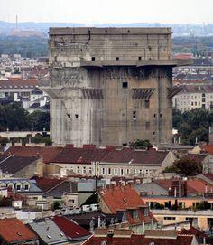 Flak Towers – Vienna, Austria - Atlas Obscura