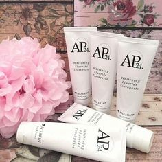 2 Tubes Of Nuskin Toothpaste Ap 24 Whitening Toothpaste, Whitening Fluoride Toothpaste, Skin Whitening, Homemade Acne Treatment, Tooth Sensitivity, Skin Elasticity, Skin Treatments, Skin Care, Nu Skin