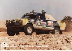 Paris Dakar 1986 Dangel pick-up