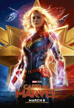 High resolution official theatrical movie poster ( of for Captain Marvel Image dimensions: 1852 x Starring Brie Larson, Jude Law, Ben Mendelsohn, Samuel L. Captain Marvel, Marvel Movie Posters, Marvel Films, The Avengers, Jude Law, Nick Fury, Jackson, Marvel Universe, 1990s