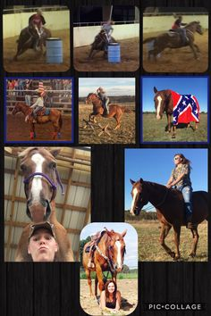 Hey I'm Summer I'm 19 and live in Oklahoma. My horse is Jake, he is a AQHA gelding, 14.2hh. We barrel race, pole bend, pretty much anything, and started jumping for fun. I train/break horses and love to help in anyway I can. I've had Jake since he was born, I trained/broke him to ride. I'm a very honest person, I'm nice unless you give me a reason not to be. Want to get to know me follow me, got any questions just ask!!!
