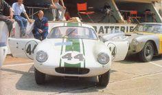 1.962 Le Mans. Hobbs-Gardner. Lotus Elite