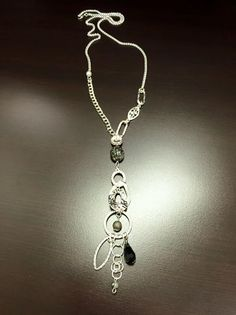 Hammered Silver, Antique Silver, Handmade Necklaces, Glass Beads, Charms, Pearl, Facebook, Antiques, My Style