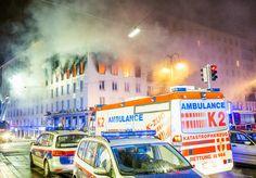 #Brand in Wiener Innenstadt: Suche nach Mieter