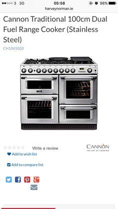 €1799 Dual Fuel Range Cookers, Electrical Appliances, Kitchen Appliances, House Appliances, Diy Kitchen Appliances, Dual Fuel Cookers, Electronic Devices, Home Appliances, Kitchen Gadgets