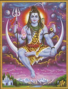 Mahakal Shiva, Shiva Art, Hindu Art, Om Namah Shivaya, Shiva Shankar, Shiva Photos, Shiva Wallpaper, Fish Wallpaper, Lord Shiva Family