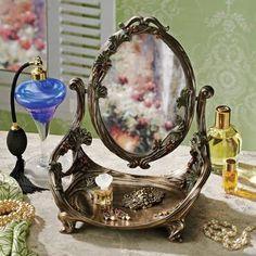 art deco bedroom vanity