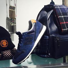 #johnandy blue #backpack #newbalance 996 #barbour #scarf #call_for_orders #00302109703888 New Balance Women, Retail Shop, Adidas Sneakers, Backpacks, Photo And Video, Beanies, Instagram Posts, Blue