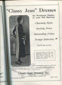 #1920s #silk #flapper #b2b #stl #stlouis #oldads #history #oldad