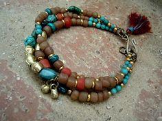 Bohemian Bracelet / Gypsy / Yoga Bracelet / Boho / by Syrena56, $46.00
