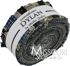 Dylan Jelly Roll by Whistler Studios fro Windham Fabrics SKU# JR 18 - Jelly Rolls - Pre Cut Fabric