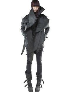 Demobaza - Smooth Neoprene Coat