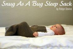 Baby sleep sack - how cute!  http://shemakeshats.blogspot.com/2012/02/snug-as-bug-sleep-sack.html?utm_source=feedburner&utm_medium=feed&utm_campaign=Feed%3A+SheMakesHats+%28she+makes+hats%29