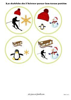 Dobble hiver tres facile copie