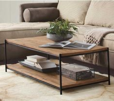Hybrid Coffee Table Double Decker