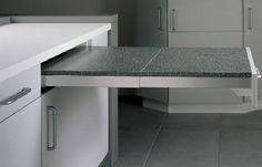 Выдвижные столы на кухне. - Домашние джунгли