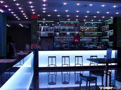 Bar ao lado da recepção - Hostel em Frankfurt, na Alemanha: United Hostel Frankfurt City Center | Viagem Primata