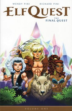 "ElfQuest: The Final Quest"" volume one by Wendy & Richard Pini (in English).  Bought the book from Faraos Cigarer in Copenhagen. Finished 19th February."