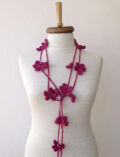 Pretty Crocheted Flowers to wear