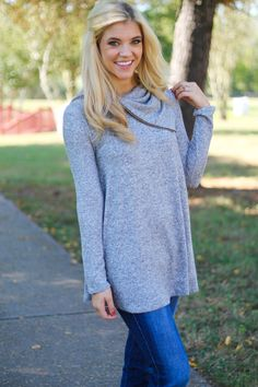 Cozy Up To Me Tunic