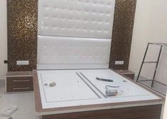 We also need lots of furniture to make the room Just like a wardrob in the room. Wood Bed Design, Bedroom Bed Design, Bedroom Furniture Design, Wood Bedroom, Wood Furniture Legs, Drawing Room Furniture, Bed Furniture, Sofa Set Designs, Partition Design