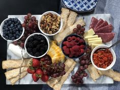 Make a Summer Cheese Board for Easy Entertaining