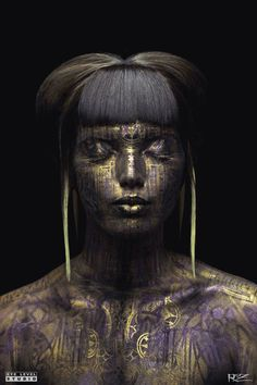 "Saatchi Art Artist Michael Rosner; Painting, ""Queen Midas"" #art"