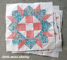 Love this block and the fabric selections!