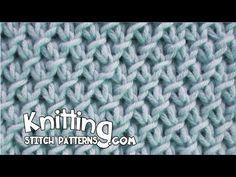 Knitting Stitch Patterns: Purl-Twist Fabric