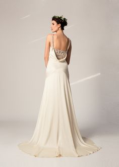 Celine silk satin gown by Temperley Bridal