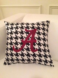 Hey, I found this really awesome Etsy listing at https://www.etsy.com/listing/180187418/university-of-alabama-inspired-throw
