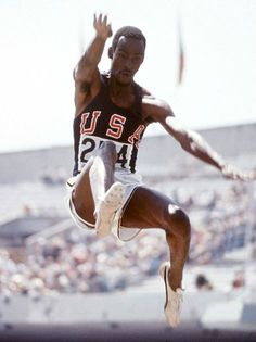 Bob Beamon, uncoached for six months before the Mexico Olympics (1968) and so naive that he did not mark out his run-up, almost failed to qualify for the final, fouling two of his three attempts. In the final, his first jump ended the competition. He landed 8.90 metres from the board, a world record by 55cm. 'I can't go on. What is the point? We'll all look silly,' said Britain's defending champion Lynn Davies, who was to finish ninth. 'You have destroyed the event,' he said, turning to Beamon.
