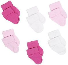 Socks and Tights 147284: Country Kids Unisex-Baby Infant Organic Baby Booties, Wht Pink Bgum, 3-12 Months -> BUY IT NOW ONLY: $33.97 on eBay!