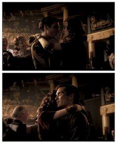 "William & Vera in love in ""The Edge of Love"""