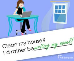 What would YOU rather be doing than cleaning your house? Here's one of our ideas.    #maid #maids #maidbrigade #housekeeper #housecleaning