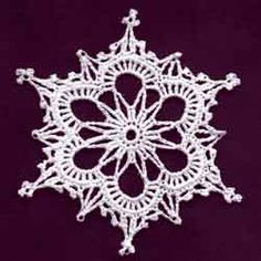 Thread Crochet and Snowflakes. Also shows how to block. Great.