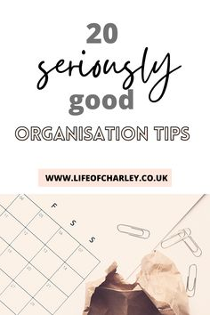 Become an organization queen with these 20 seriously good organisation tips! #organizationtips How To Be More Organized, Getting Organized, Organisation Hacks, Life Organization, Your Best Life Now, Happy Minds, Planning Your Day, Growth Mindset, Self Improvement