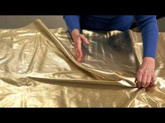 Fabric Sculpting - Splendor in Worship - Demo Video - YouTube