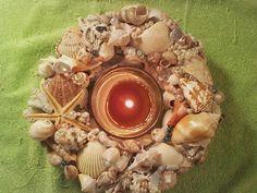 www.etsy.com/shop/SouthernCharmSeaside Seashell Centerpieces, Beach Wedding Centerpieces, Seaside Shops, Wedding Themes, Starfish, Sea Shells, Reception, Blue, Beautiful