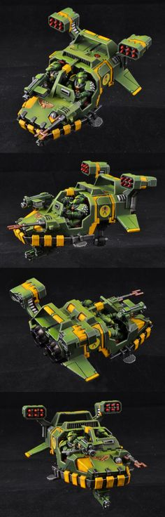Land Speeder Typhoon, Mantis Warriors.